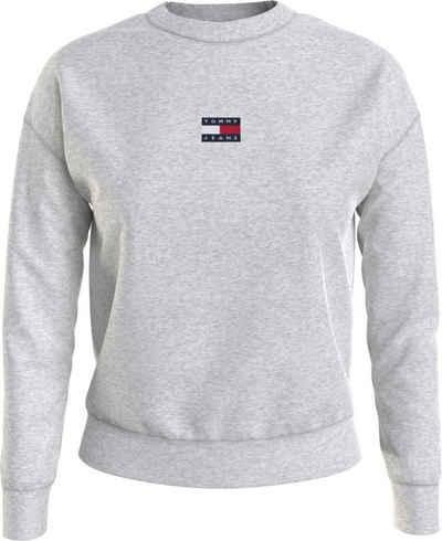 Tommy Jeans Sweatshirt »TJW Tommy Center Badge Crew« mitTommy Jeans Logo-Badge auf der Brust
