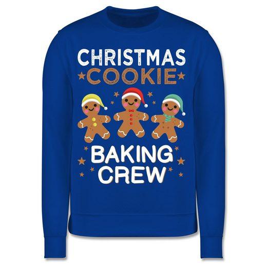 Shirtracer Sweatshirt »Christmas Cookie Baking Crew - 3 Kekse - Kinder Premium Pullover«