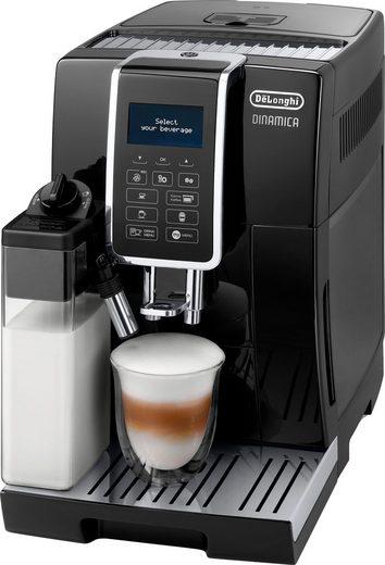 De'Longhi Kaffeevollautomat Dinamica ECAM 356.57.B, mit 4 Direktwahltasten, Kaffeekannenfunktion