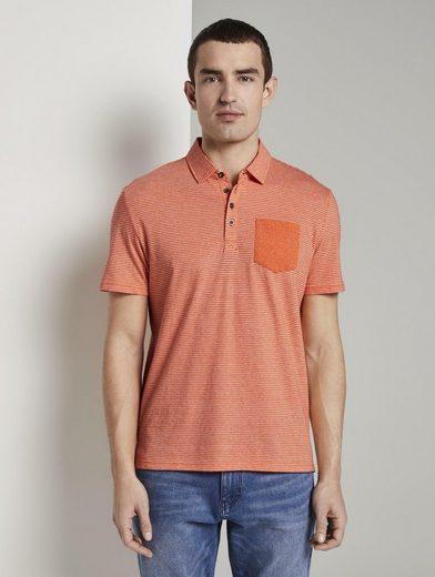 TOM TAILOR Poloshirt »Gemustertes Poloshirt aus Jersey«