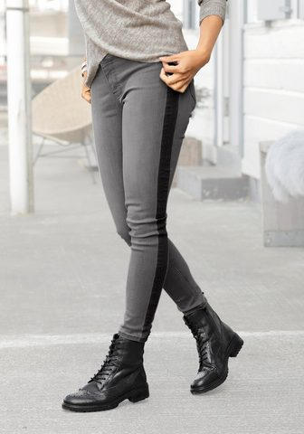 Buffalo Skinny-fit-Jeans su iš šono Streifen