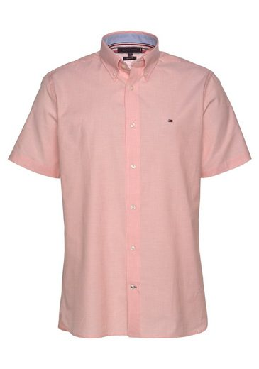 Tommy Hilfiger Kurzarmhemd »NATURAL SOFT POPLIN SHIRT«