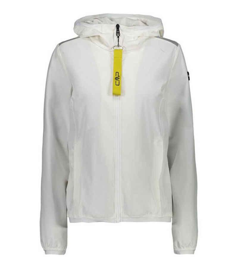 CAMPAGNOLO Kapuzensweatjacke »Campagnolo 3-Layer Fix Hood-Jacke stylische Damen Wind-Jacke wasserabweisend Regen-Jacke Weiß«