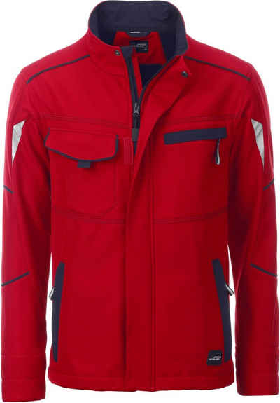 James & Nicholson Softshelljacke »Workwear Sommer Softshell Jacke FaS50851«
