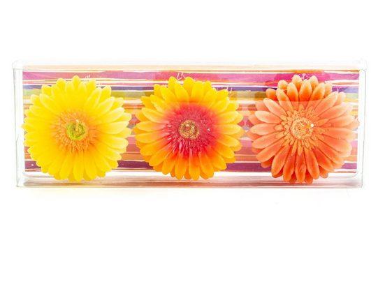 BOLTZE Cityrucksack »3er Set Schwimmkerzen Blütenform«