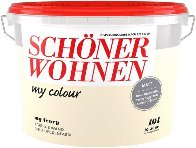 Schöner Wohnen Farbe My Colour, my ivory, natur