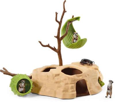 Schleich® Spielfigur »Wild Life, Erdmännchen-Hügel (42530)«, Made in Europe