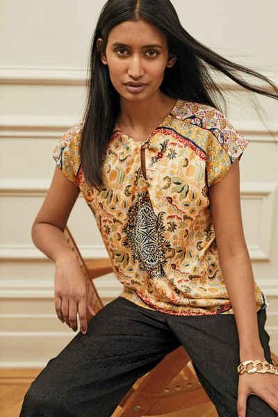 Next T-Shirt »Top mit Bindedetail vorne« (1-tlg)