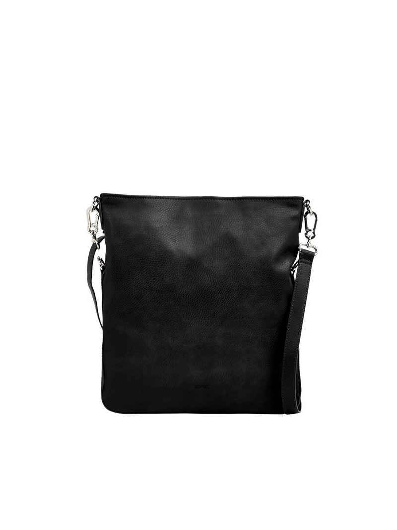 Esprit Schultertasche »Flap Over-Bag in Leder-Optik«