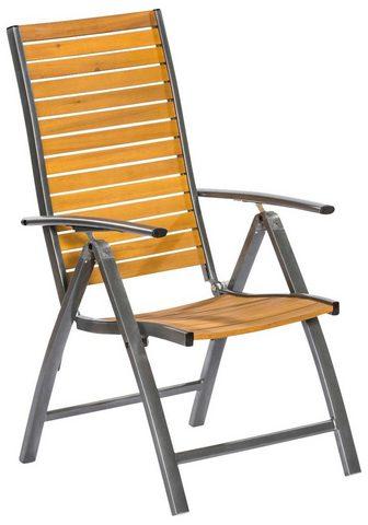 MERXX Sodo kėdė »Santorin« Eukalyptusholz/Al...