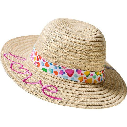Sterntaler® Strohhut mit UV-Schutz 30 für Mädchen