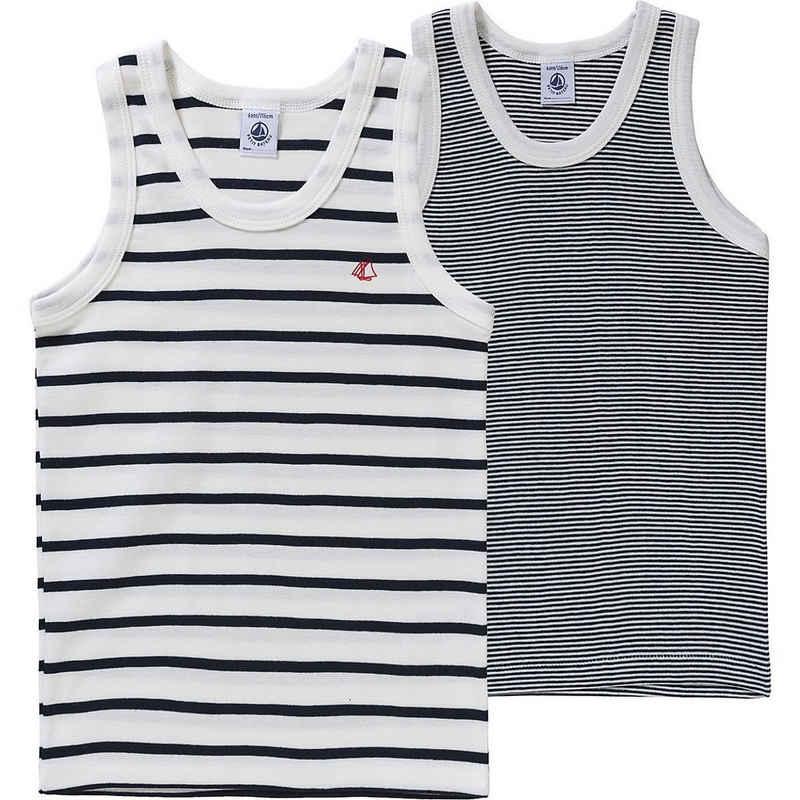 Petit Bateau Unterhemd »Unterhemden für Jungen, Doppelpack«
