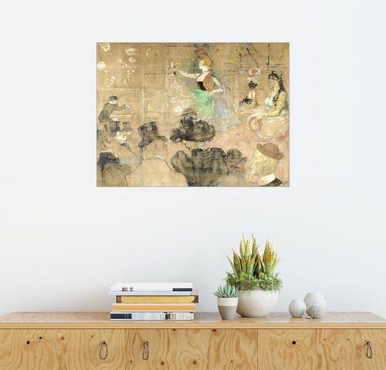 Posterlounge Wandbild, La danse mauresque ou les almees