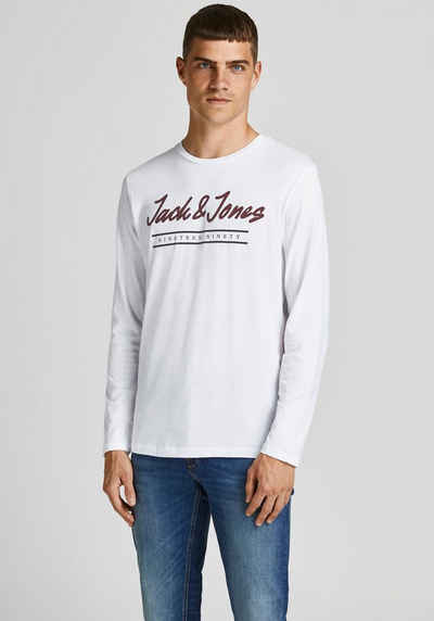 Jack & Jones Langarmshirt »HERRO TEE«
