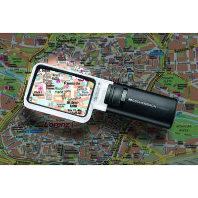 Eschenbach Optik Standlupe »Lupe mobiluxLED, 10D 3.5x«, 3.5 fache Vergrößerung, 10 Dioptrie