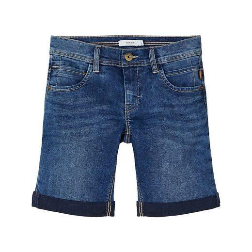 Name It Jeansshorts »Jeansshorts NKMRYAN für Jungen, Organic Cotton«