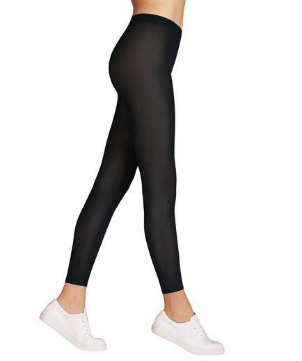 FALKE Leggings »Damen Leggins - Matt Deluxe 30, transparent matt,«