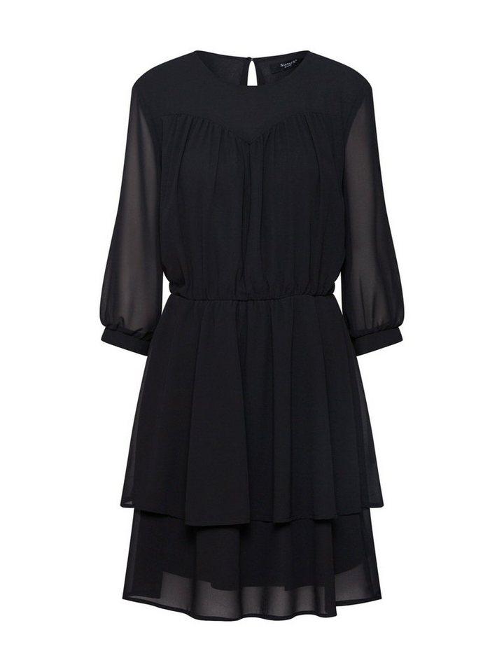sisters point -  Sommerkleid »NICO« Rüschen