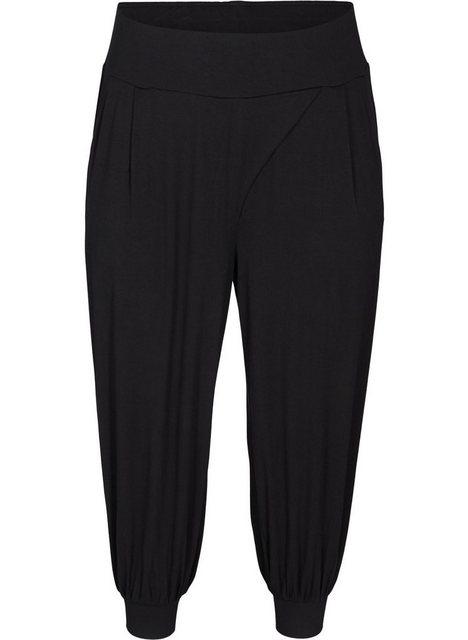 Hosen - Active by ZIZZI Sporthose Große Größen Damen Lockere Hose aus Viskose mit Taschen ›  - Onlineshop OTTO