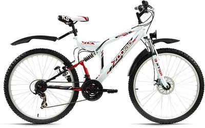 KS Cycling ATB »Zodiac«, 21 Gang Shimano Tourney Schaltwerk, Kettenschaltung