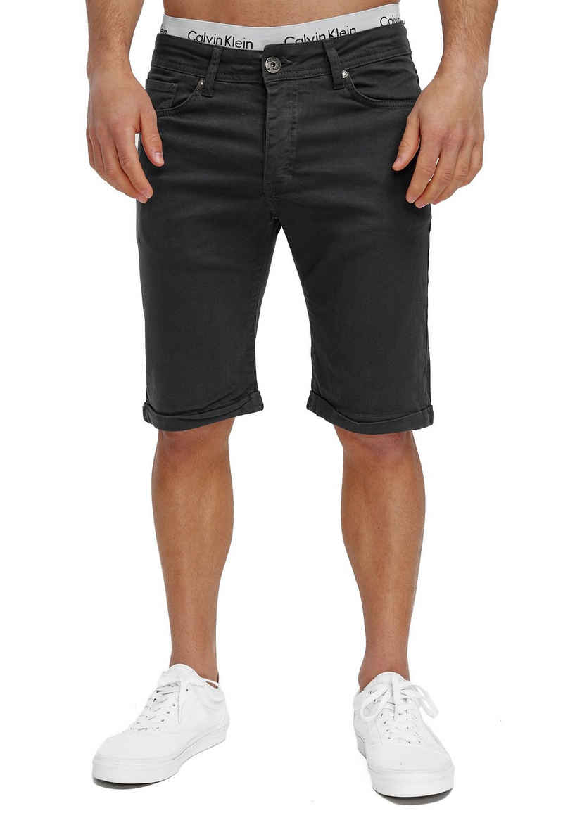 OneRedox Shorts »SH-3422« (Kurze Hose Bermudas Sweatpants, 1-tlg., im modischem Design) Fitness Freizeit Casual