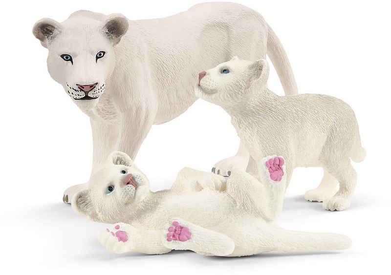 Schleich® Spielfigur »Wild Life, Löwenmutter mit Babys (42505)«, Made in Europe