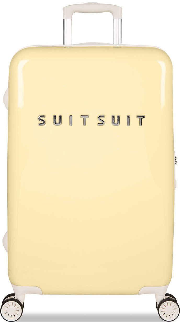 suitsuit Hartschalen-Trolley »Fabulous Fifties, 66 cm«, 4 Rollen