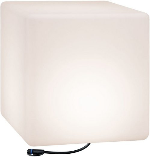 Paulmann LED Würfel »Outdoor Plug & Shine Lichtobjekt Cube«, IP67 3000K 575lm 24V