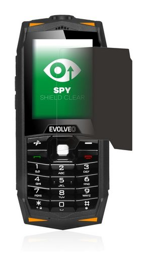 upscreen Schutzfolie »für Evolveo Strongphone Z3«, Folie Schutzfolie Sichtschutz klar anti-spy