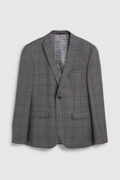 Next Anzugsakko »Taillierter Anzug im Prince-of-Wales-Karo: Sakko«