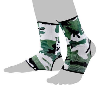 BAY-Sports Fußbandage »Knöchelbandage Fußgelenkbandage Sprunggelenk Paar«, Anatomische Passform, Kompression, XS - XL, kann rechts und links getragen werden