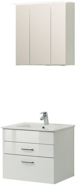 Badezimmer Sets - HELD MÖBEL Badmöbel Set »Treviso«, Breite 60 cm, Set 3 tlg.  - Onlineshop OTTO