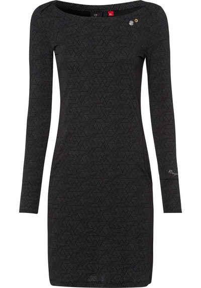 Ragwear Jerseykleid »RIVER« in dezentem Allover-Print
