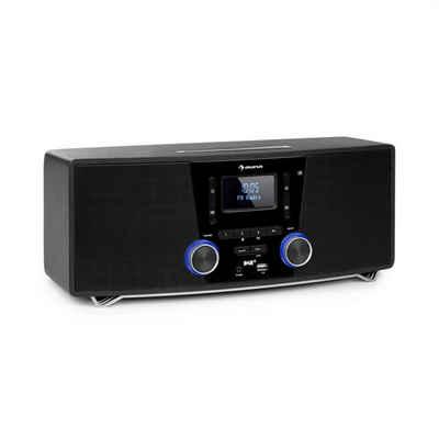 Auna »Stockton Micro Stereosystem 20W max. DAB+ UKW CD-Player BT OLED schwarz« Stereoanlage (DAB+, UKW-Radio, 0 W)