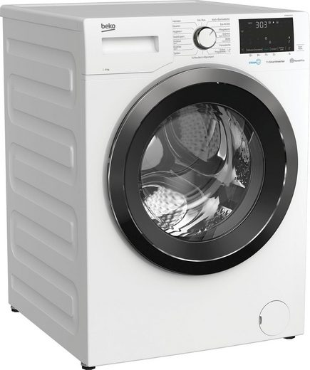 BEKO Waschmaschine WYA81643LE1, 8 kg, 1600 U/min