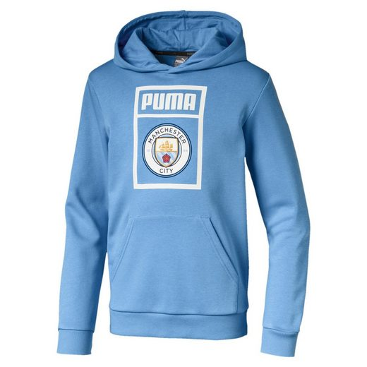 PUMA Sweater »Manchester City Kinder Shoe Tag Hoodie«