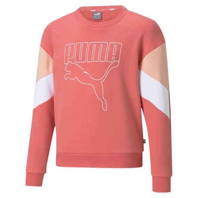 PUMA Sweater »Rebel Jugend Sweatshirt mit Rundhalsausschnitt«