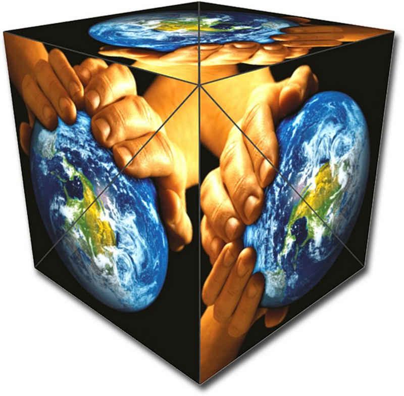GeoBender Würfelpuzzle »Cube World«, Puzzleteile