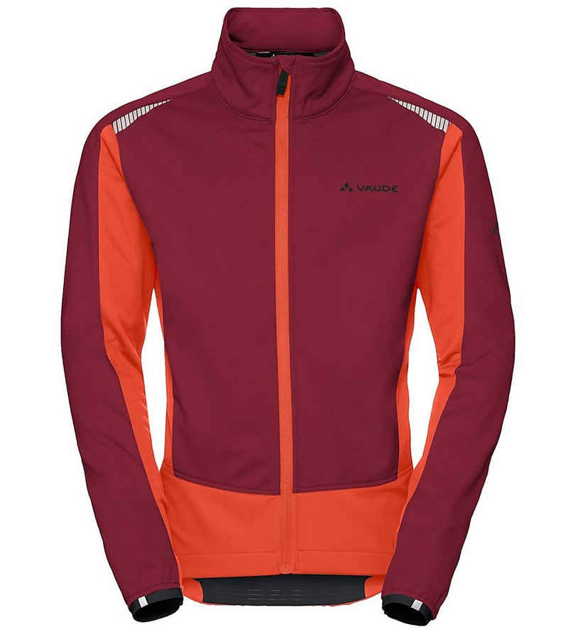 VAUDE Skijacke »VAUDE Bealach Radsport-Jacke wasserdichte Herren Softshell-Jacke Winter-Jacke Rot/Orange«