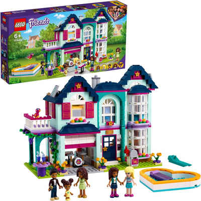 LEGO® Konstruktionsspielsteine »Andreas Haus (41449), LEGO® Friends«, (802 St), Made in Europe