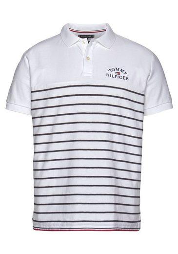TOMMY HILFIGER Poloshirt »BRETON STRIPE TEXTURE REG POLO«