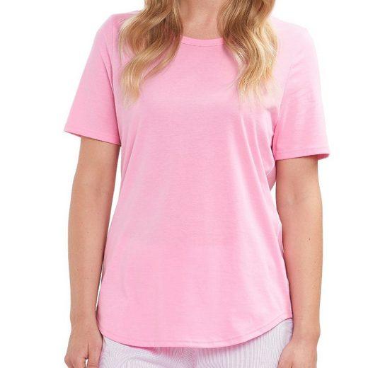 Rösch Pyjamaoberteil »Damen Schlafanzug Shirt - kurzarm« Hochwertig verarbeitet, Zum selbst kombinieren, Atmungsaktiv