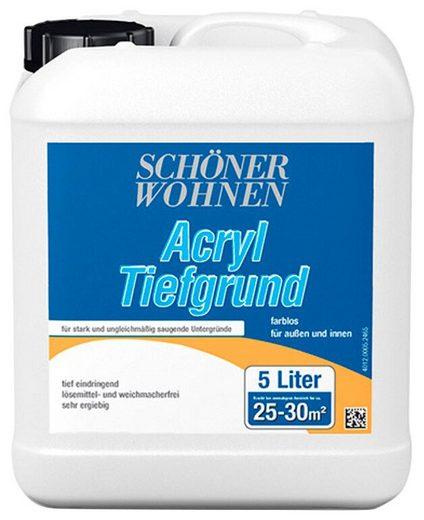 SCHÖNER WOHNEN-Kollektion Grundierfarbe »Acryl Tiefgrund«, 5 l