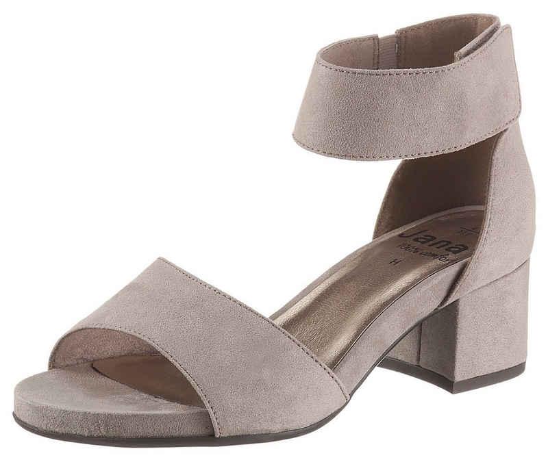 Jana »Hobart« Sandalette in Schuhweite G (weit)