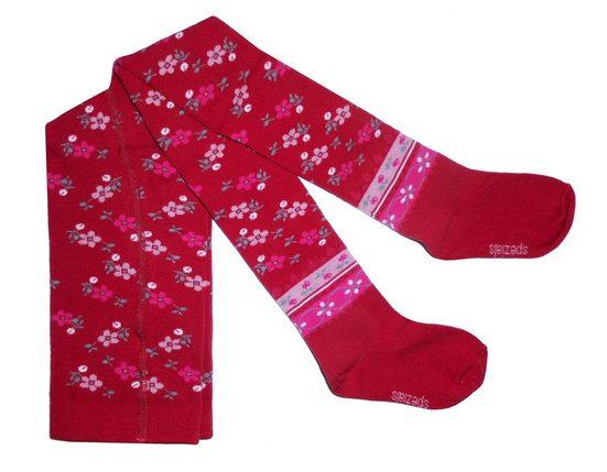 WERI SPEZIALS Strumpfhersteller GmbH Strickstrumpfhose »Kinderstrumpfhosen für Mädchen >>Etno<< mit Baumwolle«