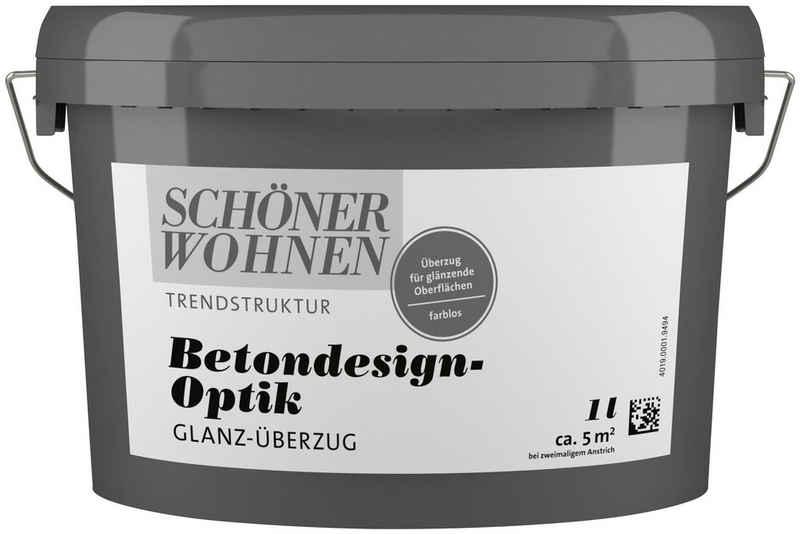 SCHÖNER WOHNEN-Kollektion Klarlack »Betondesign-Optik Glanz-Überzug«, farblos