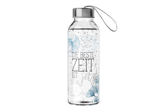 La Vida Trinkflasche »Motivauswahl La Vida Trinkflasche 400ml Wasserflasche Glasflasche Motivauswahl: Beste Zeit 540632«