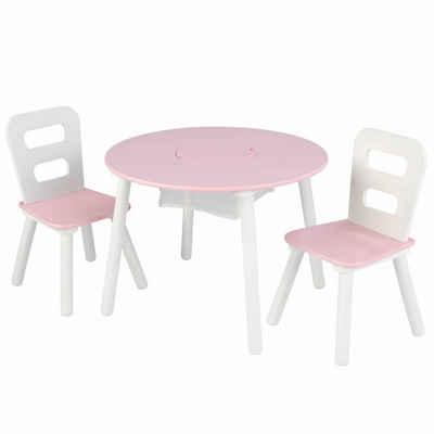 KidKraft® Kinder-Sitzauflage »KidKraft Kindertisch mit 2 Stühlen Kindersitzgruppe Massivholz mehrere Auswahl«