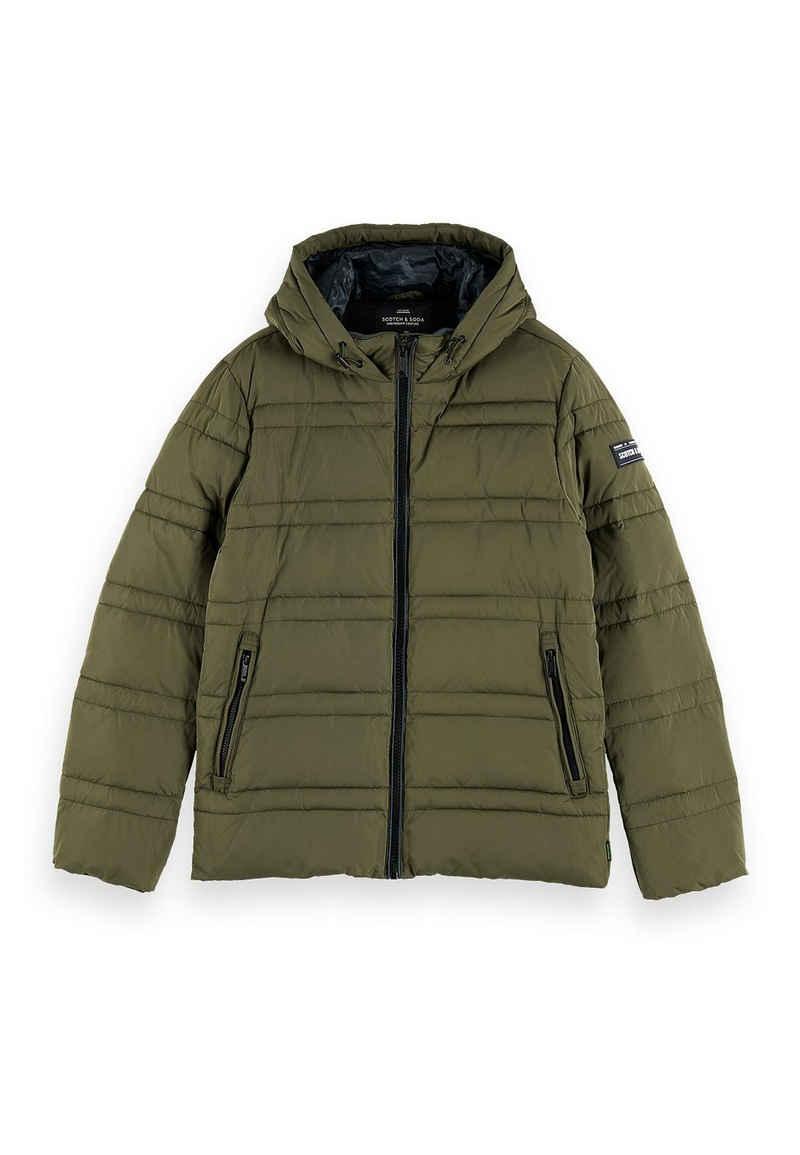 Scotch & Soda Kurzjacke »Scotch & Soda Jacket Men CLASSIC HOODED PRIMA LOFT JACKET 152012 Khaki Military 0115«