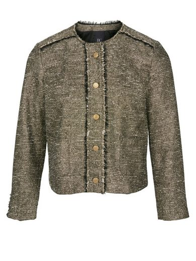 heine CASUAL Blazer im Metallic-Look